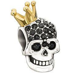 665415fe7 Chamilia - Skull Highness Bead - 2083-0392 | Skulls | Skull jewelry ...