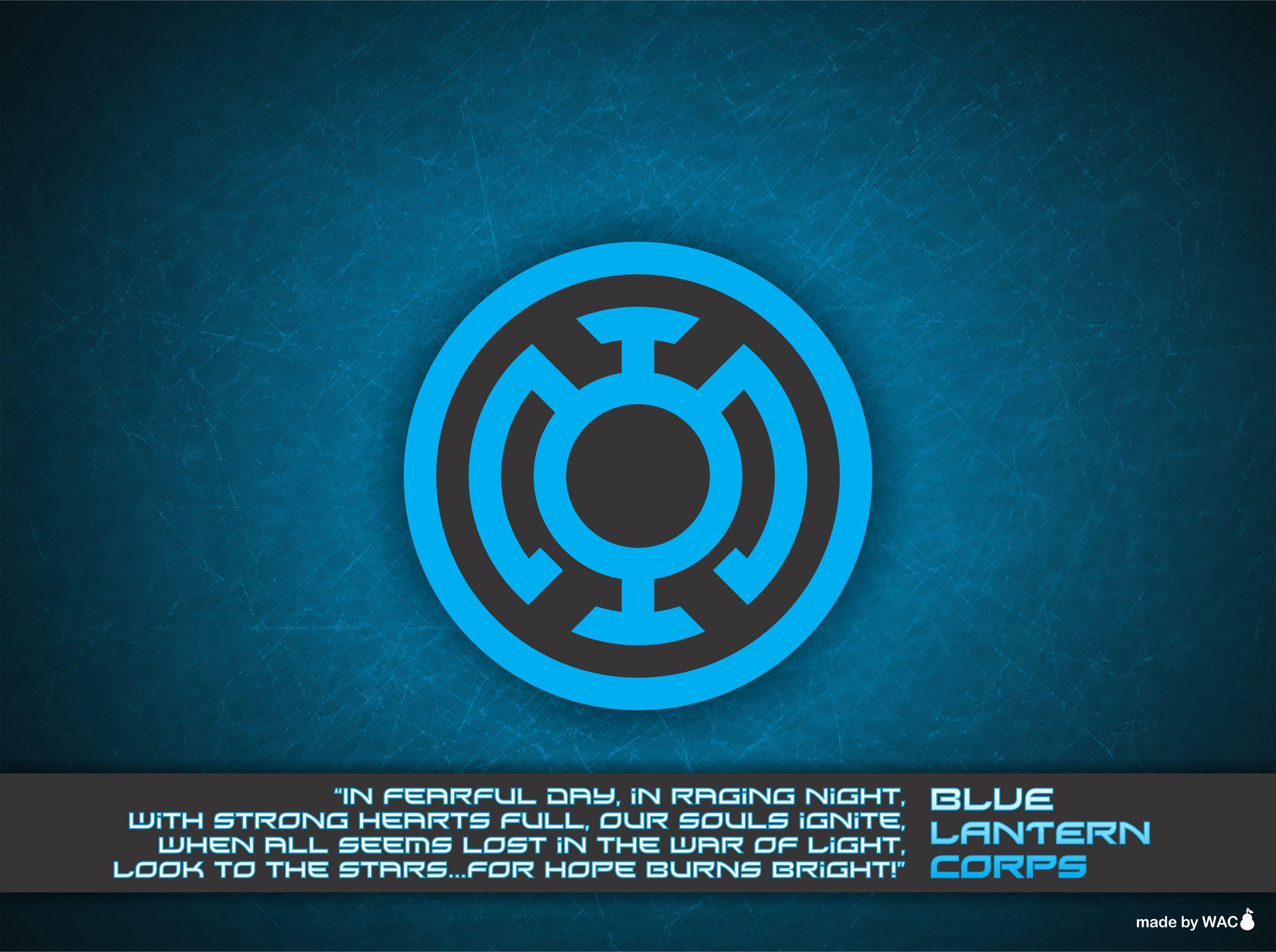 Blue Lantern Corps Oath Green Lantern Pinterest Blue Lantern