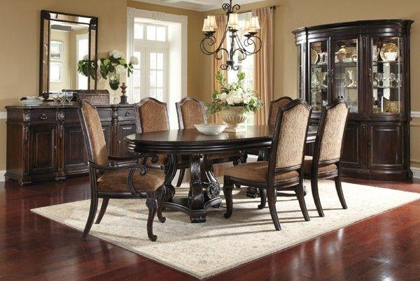Traditionellen Stil Esszimmer Möbel - Lounge Sofa Überprüfen Sie