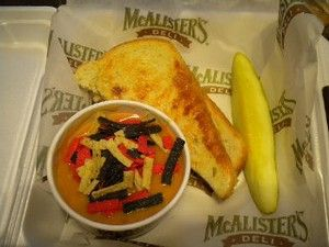 McAlister's Chicken Tortilla Soup #chickentortillasoup