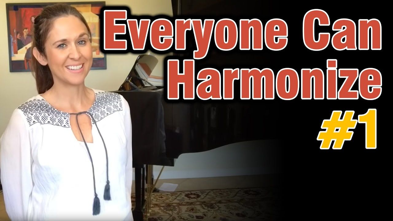 Everyone Can Harmonize Part 1 Youtube In 2020 Singing Songs Canning