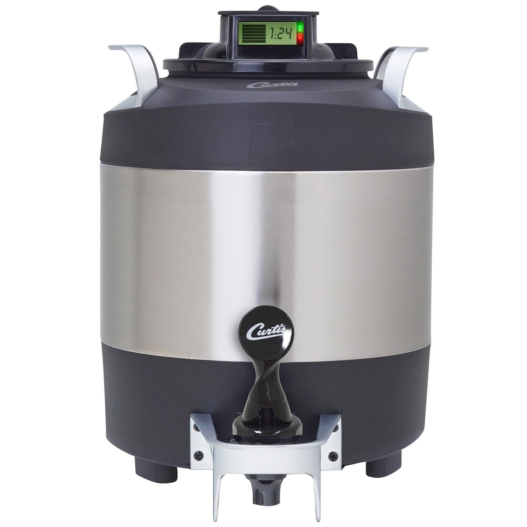 Wilbur Curtis TFT1G2 FreshTrac 1 Gallon Thermal Coffee Server, Brew ...