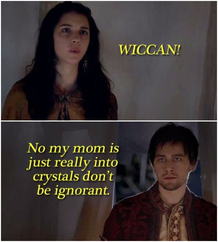 Image result for all witches are wiccans meme