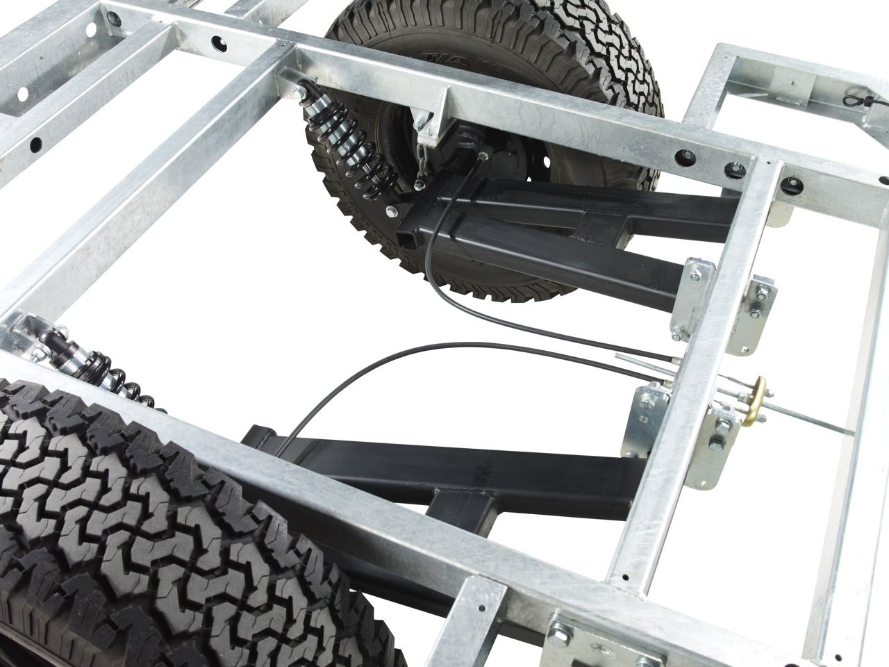 how to make ms chassis suspension
