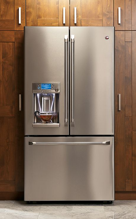 Ge Cafe French Door Refrigerator With Hot Water Dispenser French