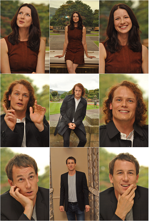 "farfarawaysite: "" Site Update: Outlander Cast Members - 8/22/15 [18 HQ Tagless Stills] Please consider a reblog to help spread awareness of our galleries. """