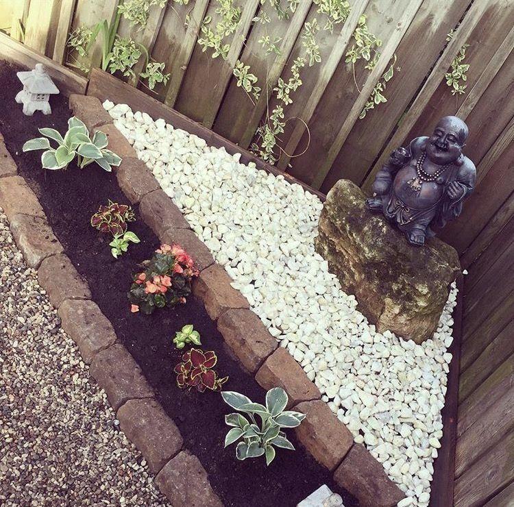 Buddha Garden In Love With This Buddha Garden Japanese Garden Japanese G Modern Design In 2020 Buddha Garden Spiritual Garden Zen Garden Diy