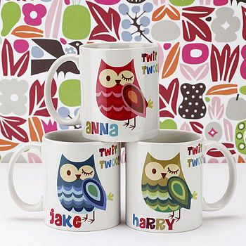 Owly Personalised What Could Be Better Personalized Mugs Mugs Owl Coffee