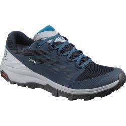 Photo of Salomon men's multifunctional shoes outline GTX, size 41? in blue SalomonSalomon