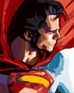 Супермен - Картина-раскраска без коробки | Супермен ...