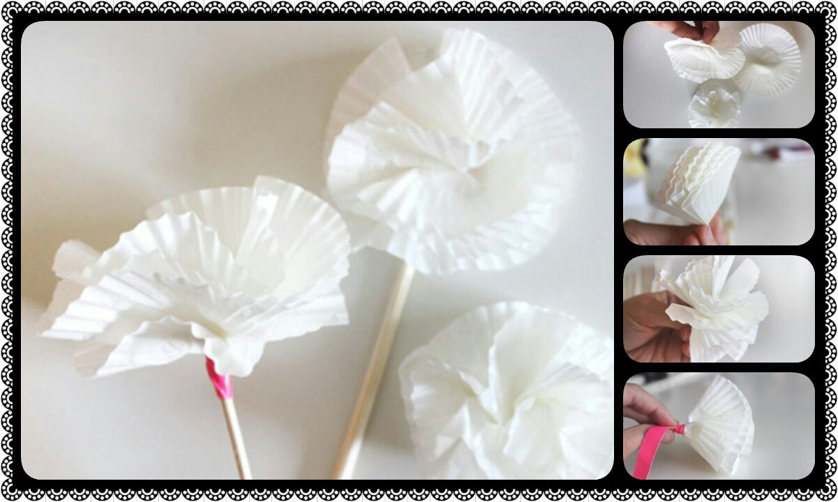 How to make recycled paper flowers crazzy craft paper craft how to make recycled paper flowers crazzy craft mightylinksfo Choice Image