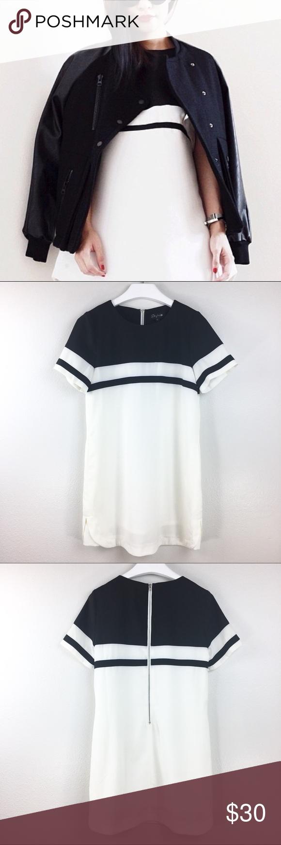 De Philo ColorBlocked Shift Dress Size S • Length 32