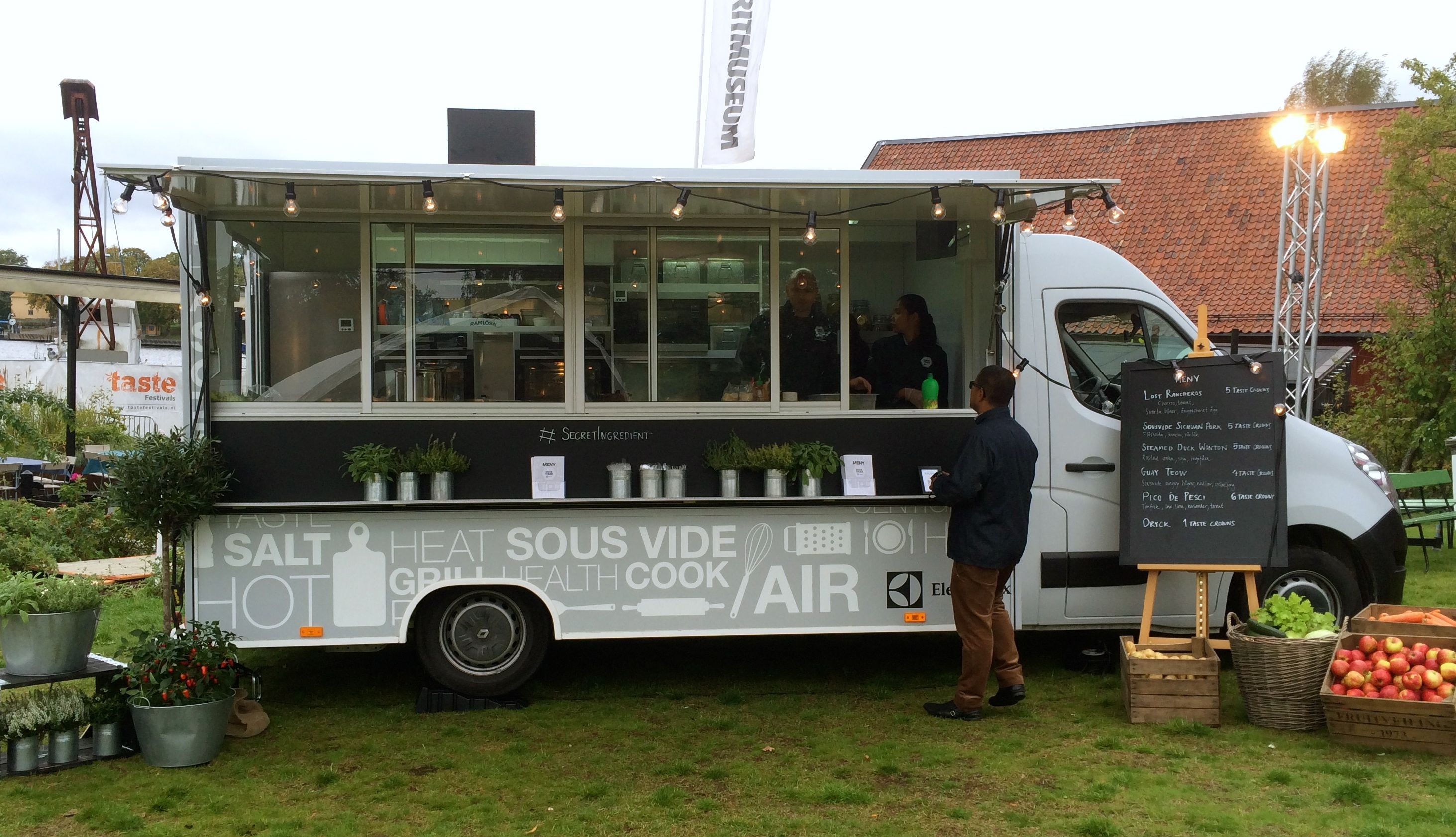 Electrolux food truck | My retail, event and exhibition work