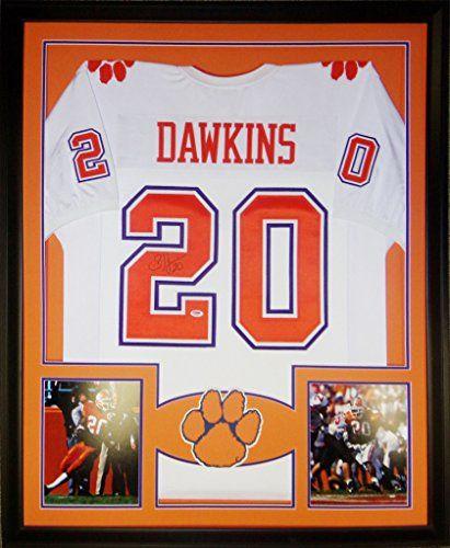 online retailer 345dc 2d3a3 Brian Dawkins Clemson Tigers Memorabilia | Cool Clemson ...