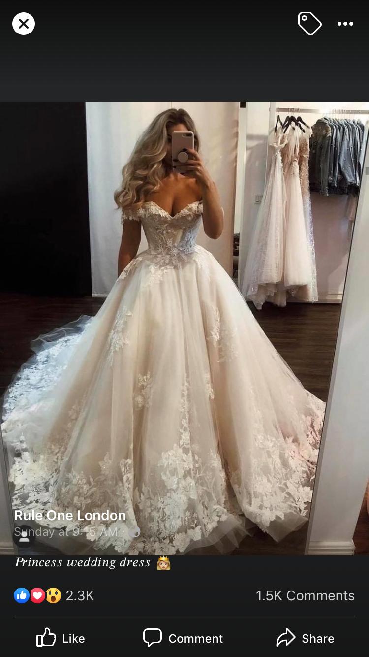 Princess Wedding Dress Wedding Dresses Big Princess Wedding Dresses Casual Wedding Dress [ 1334 x 750 Pixel ]