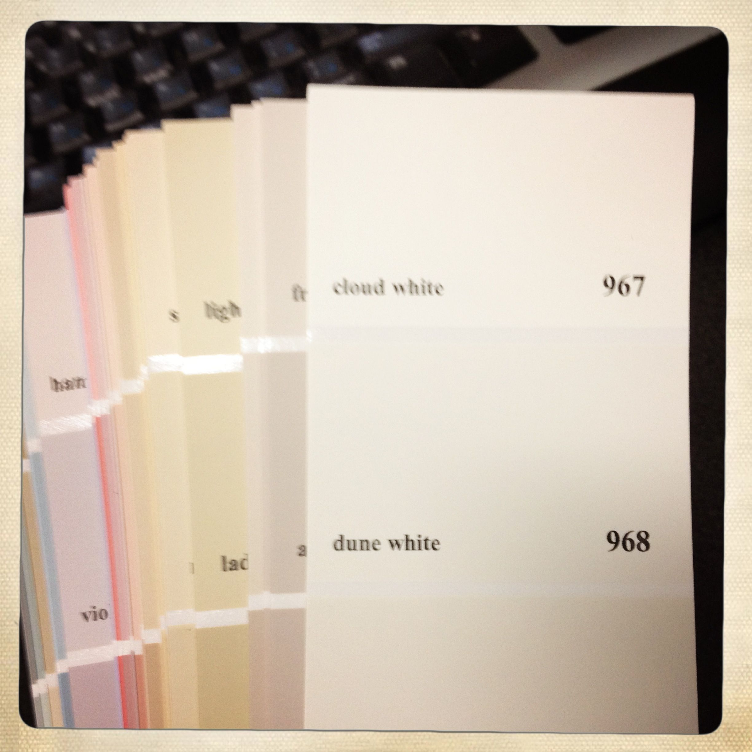 Paint Swatches, Paint