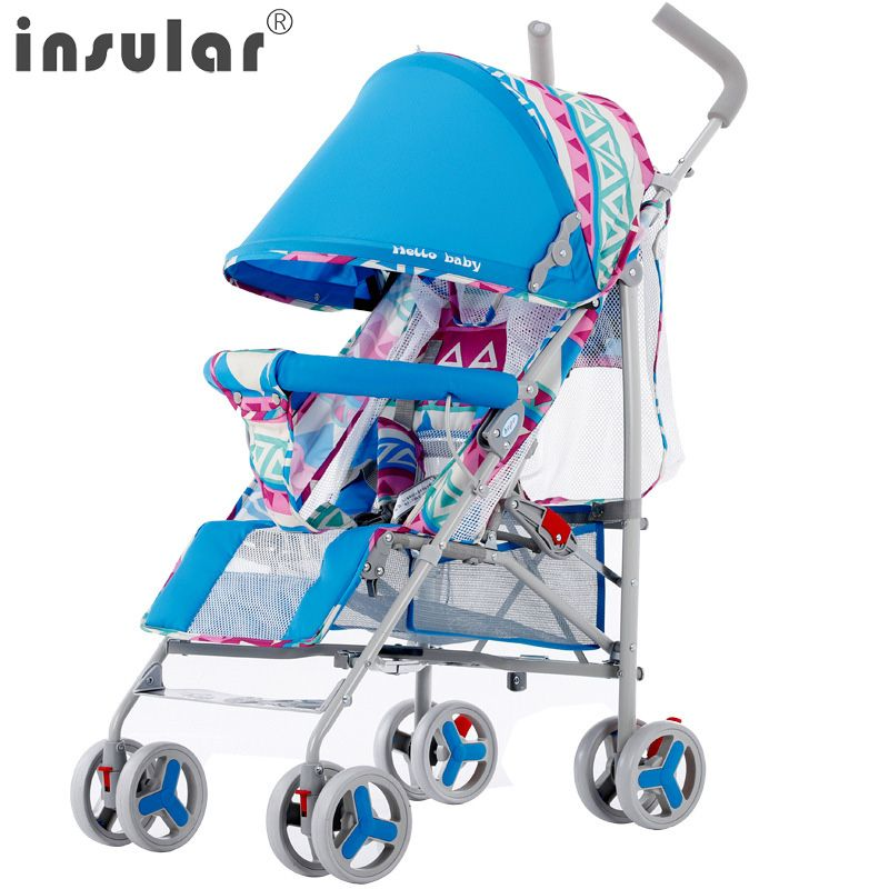 >> Click to Buy << 2017 NEW Arrival Fashion Trendy Baby Stroller Portable Folding Can Sit Can Lie Down BabyStroller Summer Breather Stroller #Affiliate