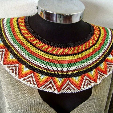 Resultado de imagen para collares embera chami | collares grades ...