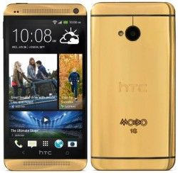 18 carat gold-plated HTC One