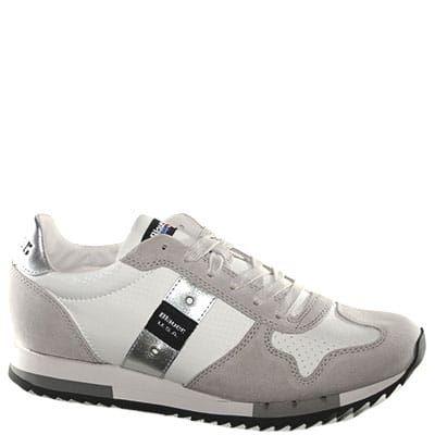 Sneaker bianca e grigia | Scarpe, Collezione primavera e