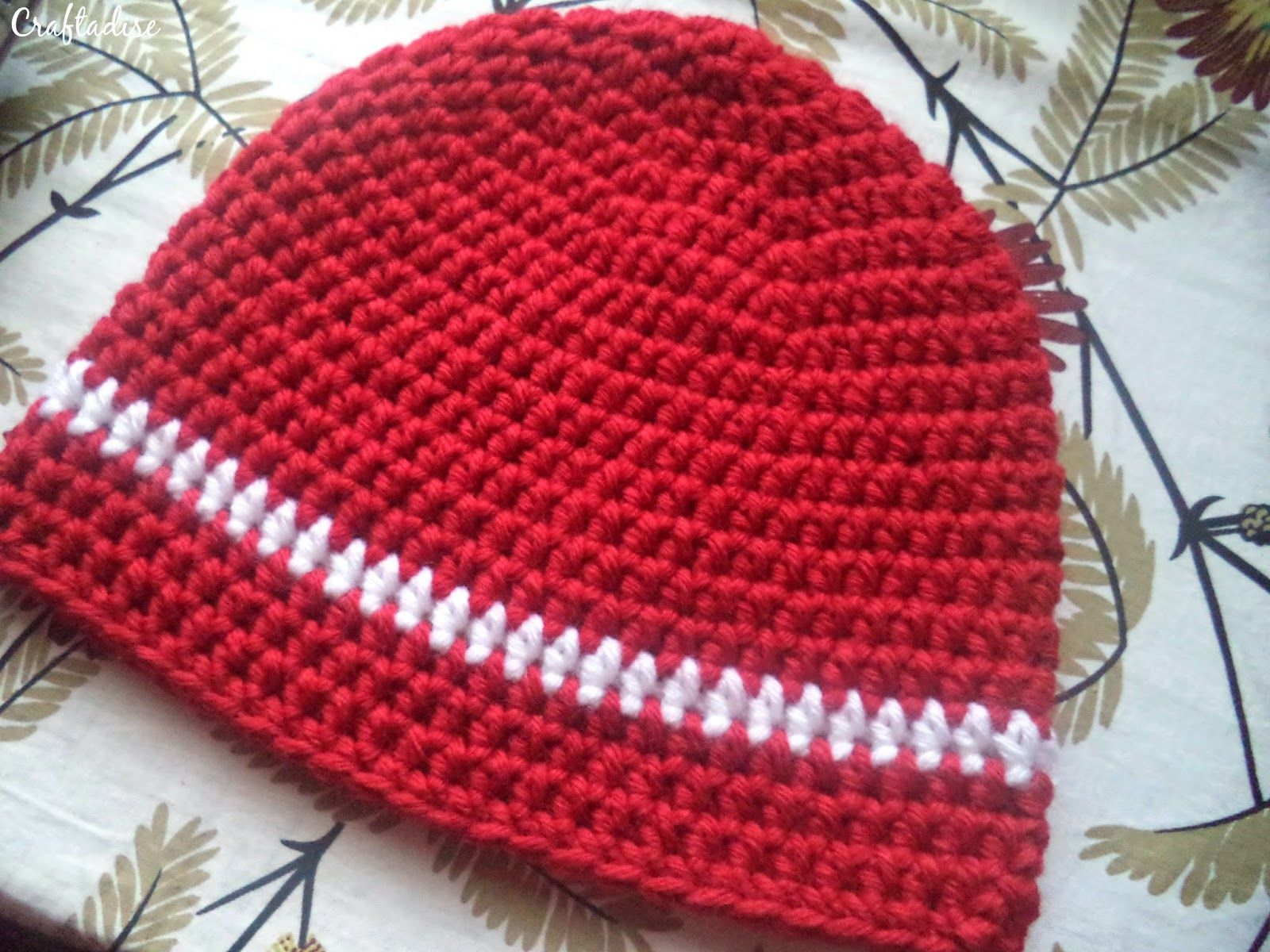 Free Crochet Pattern Half Double Arsenal Hat Part 1 Am Diagram And On Pinterest
