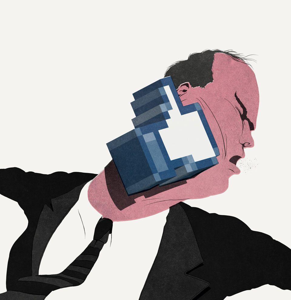 Las ilustraciones sarcásticas de Daniel Stolle | OLDSKULL.NET
