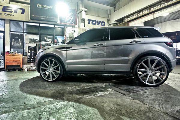 Permaisuri Indonesia Land Rover Evoque With 24 Csr10 Wheels From