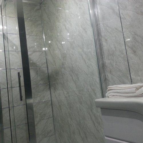 Delightful Slate Grey Stone Marble Effect PVC Wall Cladding Panels