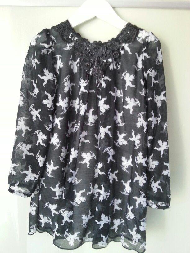 Silk dress by Poposhka