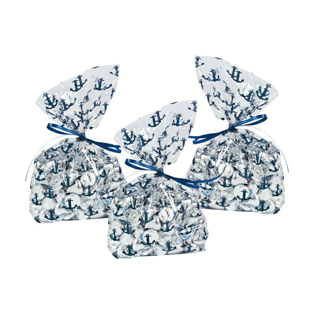 Nautical Wedding Cellophane Bags | Nautical wedding, Cellophane bags ...
