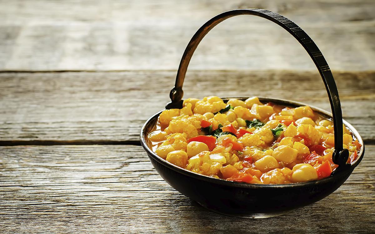 Cömo hacer curry de verduras y garbanzos | Demos la vuelta al día