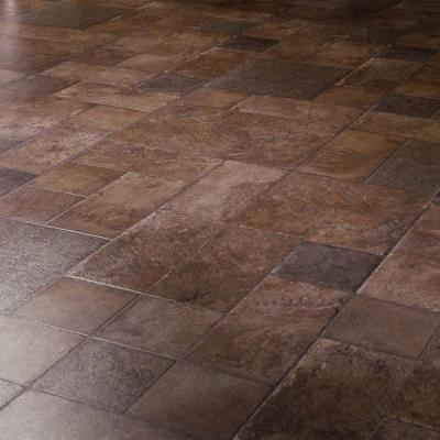 Dupont Tuscan Stone Terra Laminate Flooring 5 In X 7 Take Home Sample Discontinued