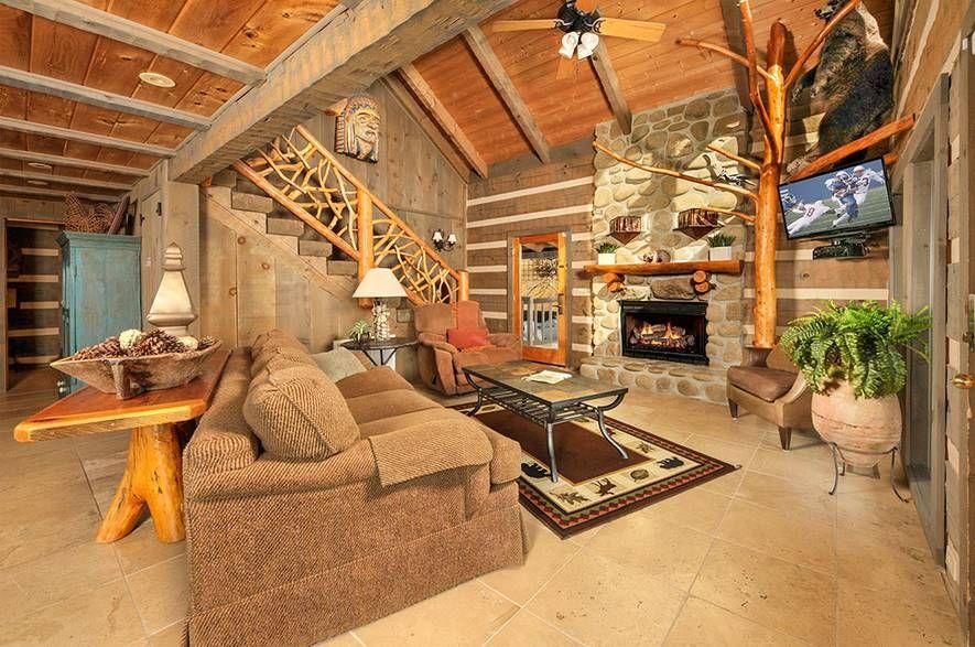 Beau Voir 2 Bedroom Sevierville Cabin Rental Cabin Rentals Gatlinburg Cabin Rentals Cabin