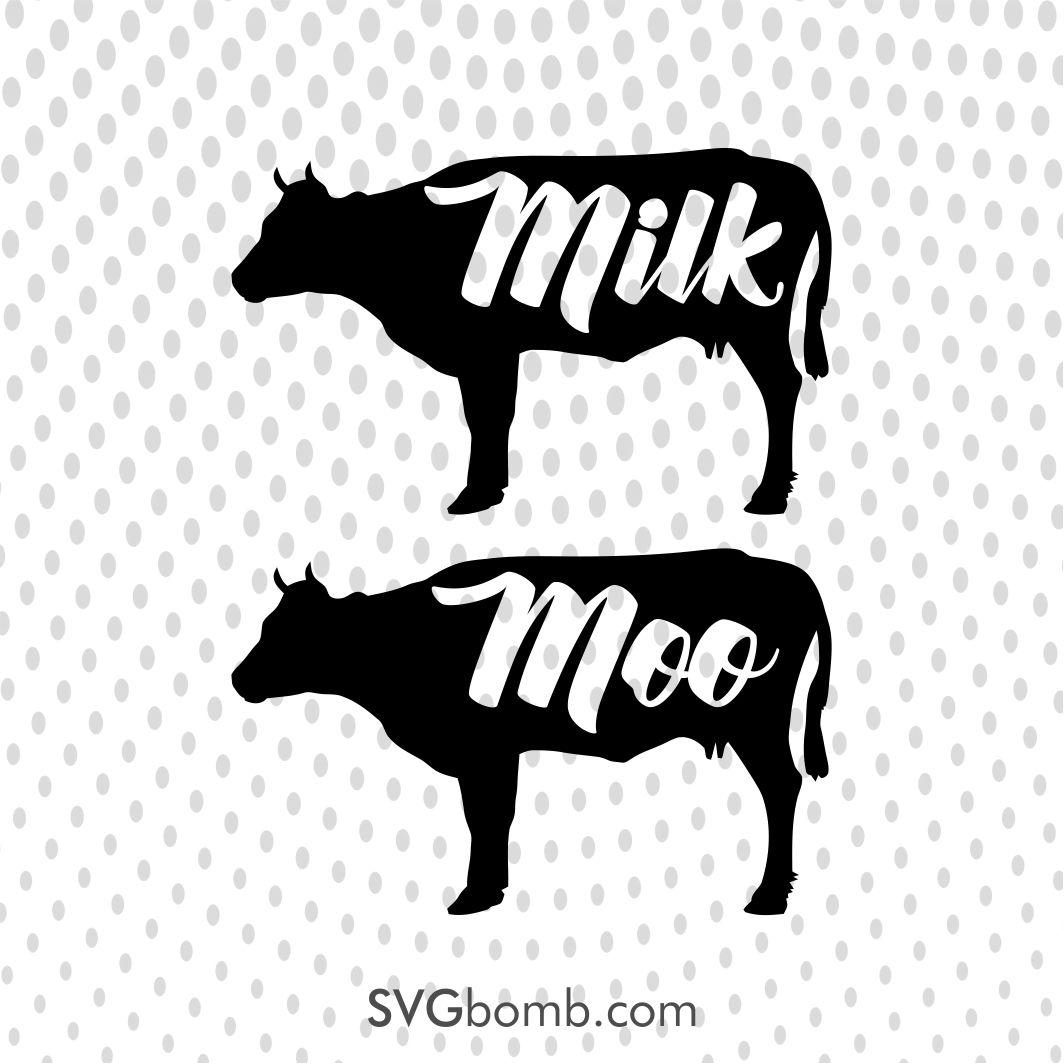 Download Farmhouse Cow Milk Moo | Free svg