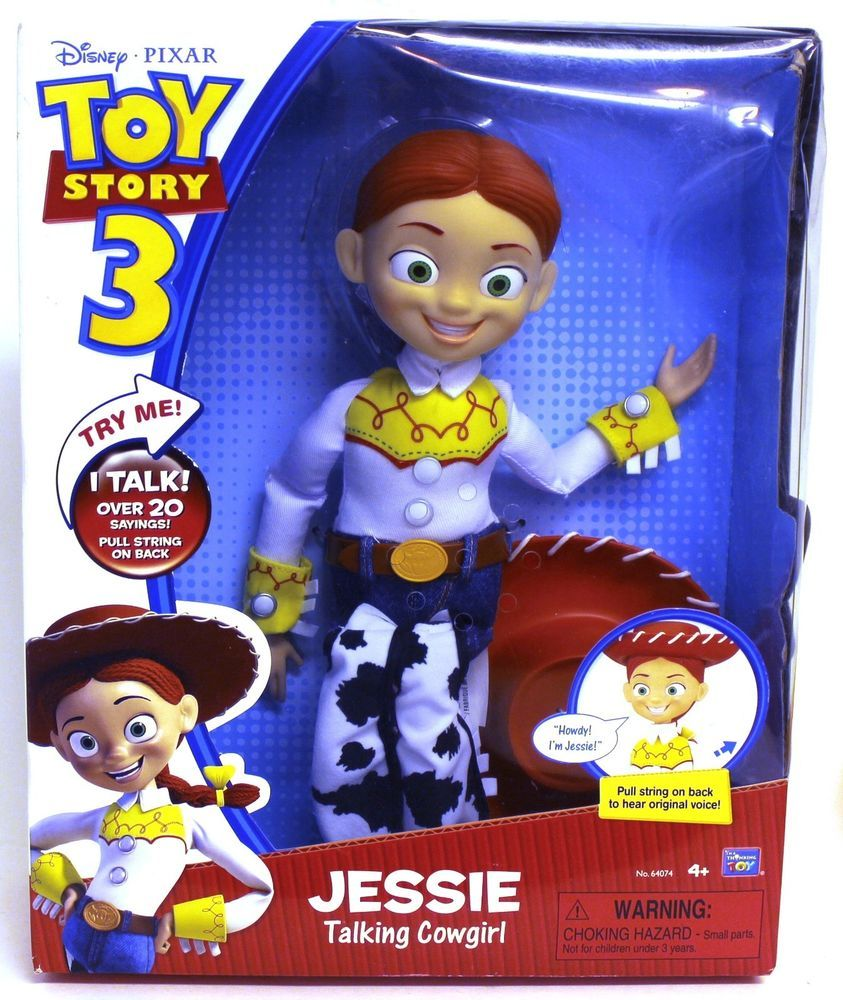4cf9c02636 Talking Jessie Pull String Jessie Talking Cowgirl Doll - Toy Story 3 - New…
