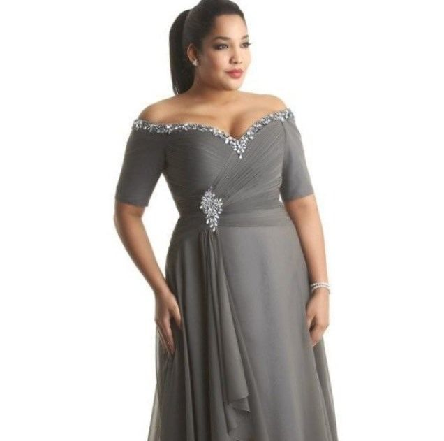 Plus size formal cocktail dresses… | Dream Dressings | Pinterest ...