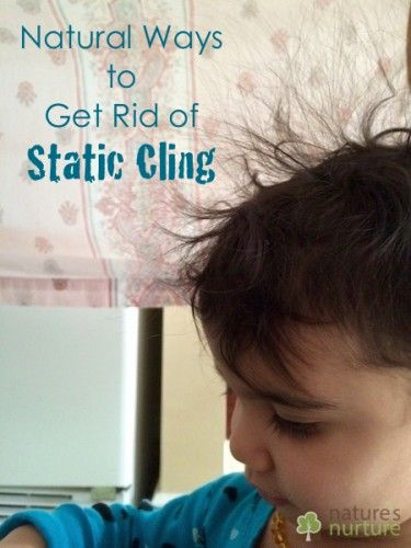Natural Ways to Get Rid of Static Cling