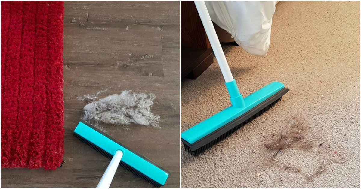 The 6 Kmart Cleaning Tool That Promises To Replace Your Broom Mop And Vacuum Cleaner Rubber Broom Kmart Hacks Cleaning Tools
