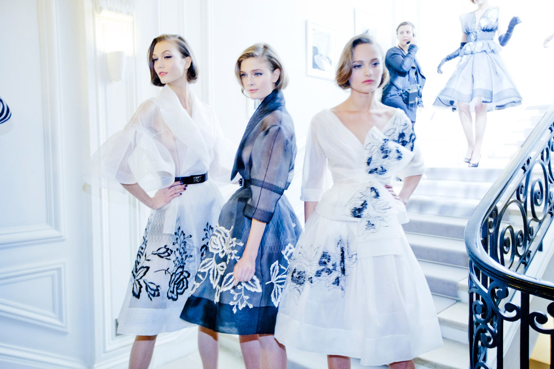 Vogueus view the best and most beautiful backstage and front row