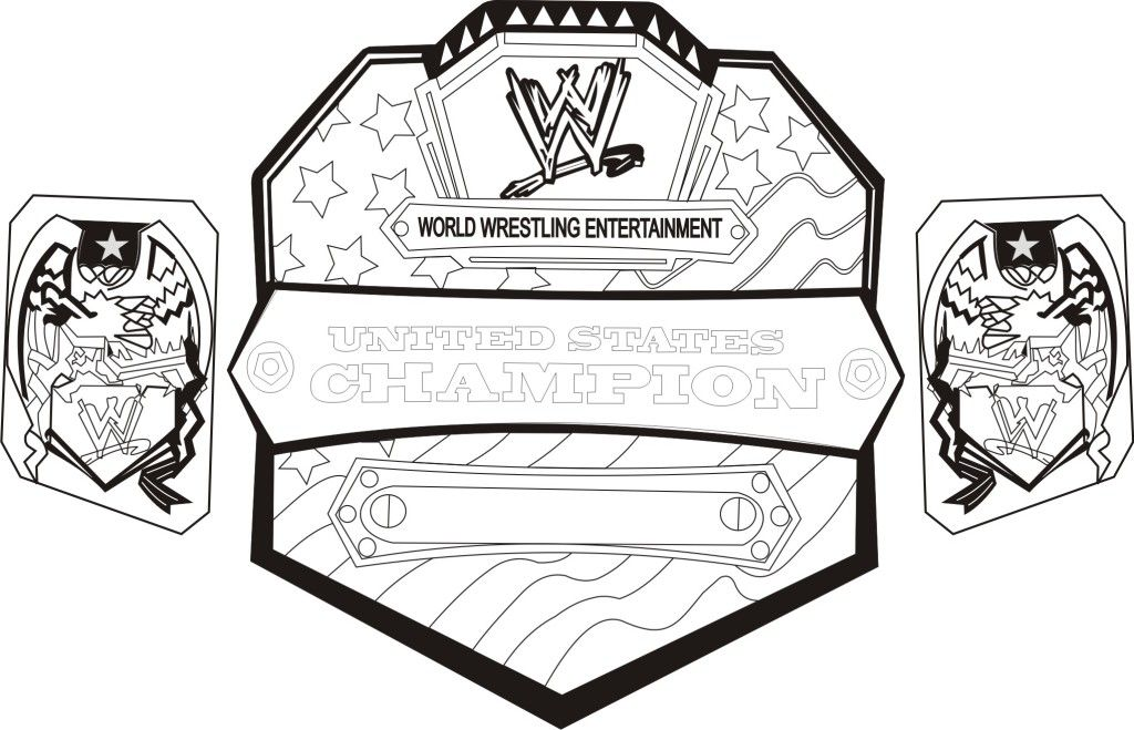 WWE Articles Characters You Do United States Championship