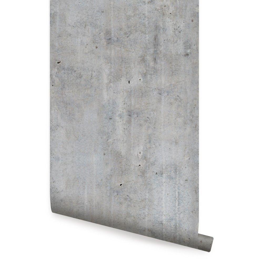Cement Concrete Wallpaper Peel And Stick Concrete Wallpaper Fabric Wallpaper Concrete Interiors