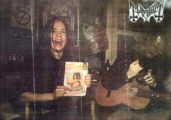 Mayhem Dead Euronymous | Mayhem black metal, Mayhem