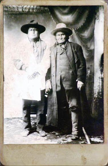 Lone Wolf (Kiowa), Geronimo (Chiricahua Apache) - no date