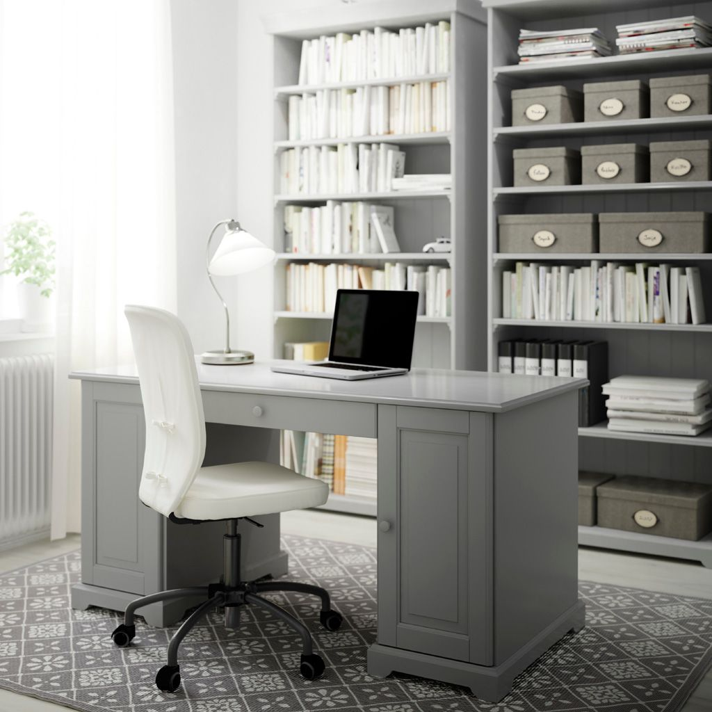 white home office desk. Home Office Furniture Amp; Ideas IKEA White Desk
