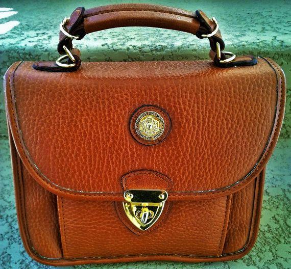 Pierre Balmain Vintage Leather Handbag