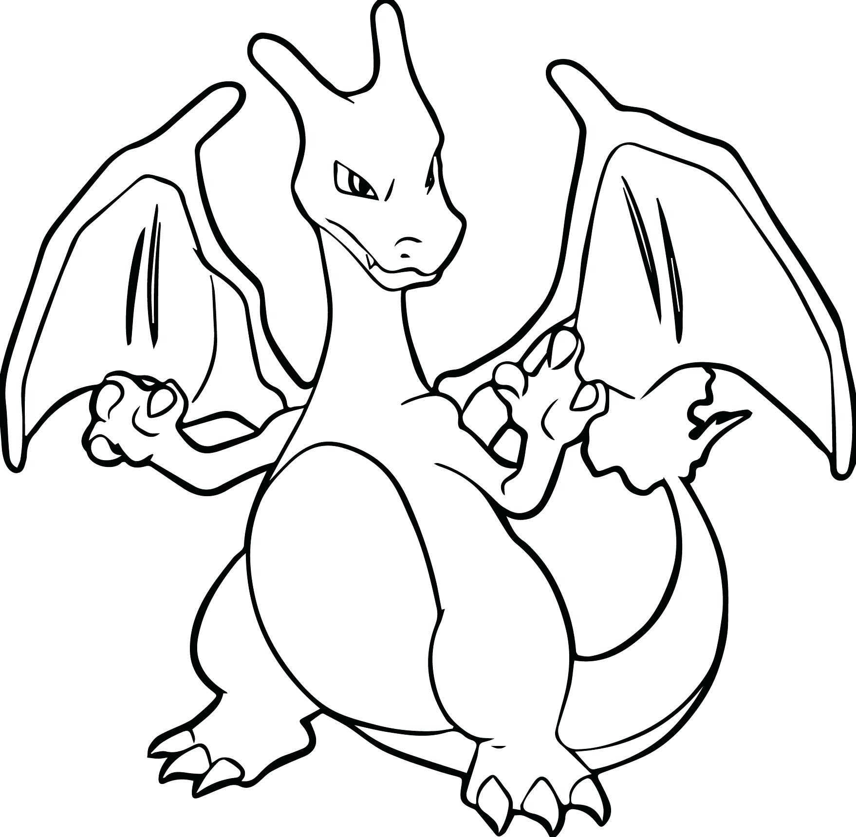 Charizard Coloring Pages Pokemon Coloring Pages Pokemon