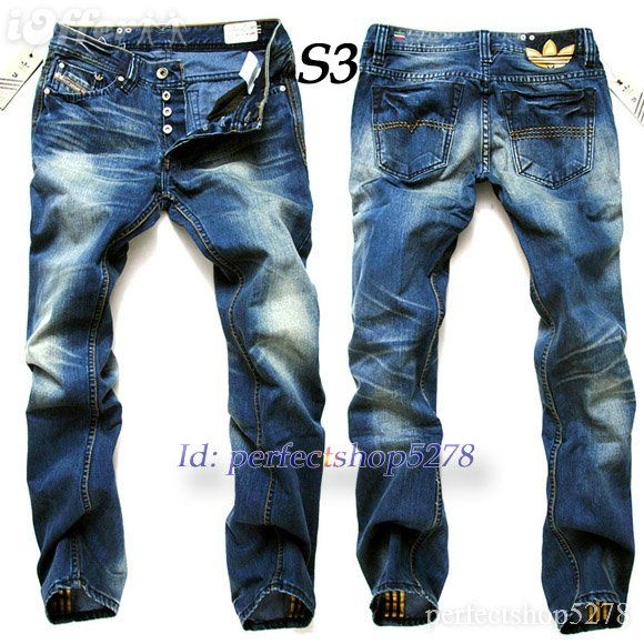 Adidas Originals x Diesel Jeans VIKER | Men's denim style ...