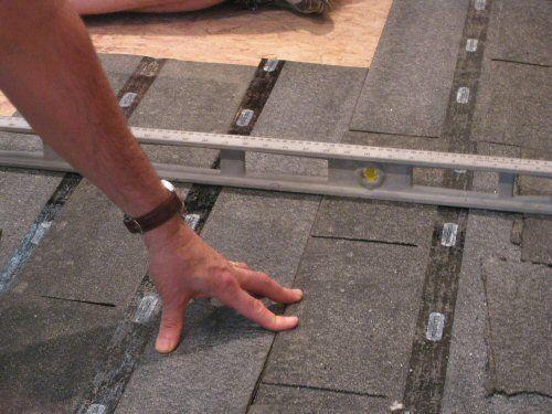 How To Level A Plywood Or Osb Subfloor Using Asphalt Shingles Construction Felt Leveling Floor Diy Flooring Osb