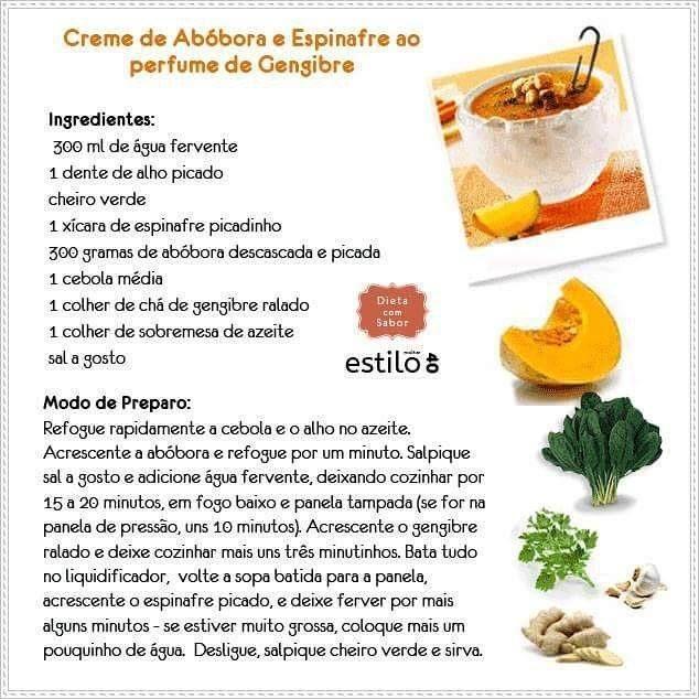Esfriou? Vá de Creme de Abóbora e Espinafre! #creme #sopa #inverno #receita #abóbora #espinafre #dieta by mulherestilo40 http://ift.tt/1NOk6d0