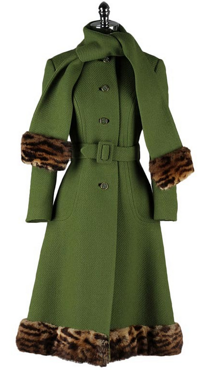 Coat 1960s 1stdibs.com [Love it that I have a coat just like this!]
